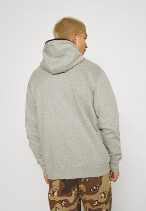 FULL ZIP HOODIE - Zip-up hoodie - heather grey