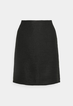 RAVENNA FESTIVE - Mini skirt - black