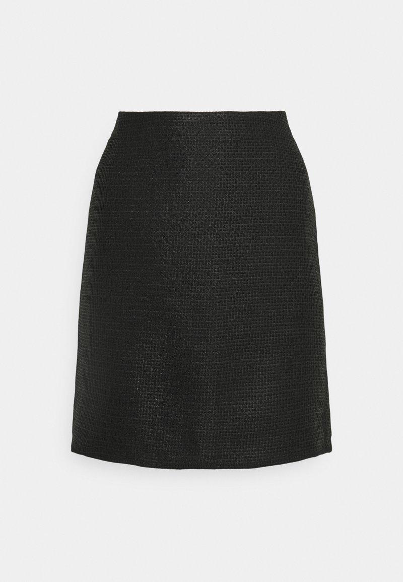 Opus - RAVENNA FESTIVE - Mini skirt - black
