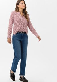 BRAX - STYLE VICTORIA - Button-down blouse - cinnamon - 1