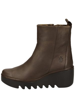 Wedge Ankle Boots - ground