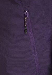 Quiksilver - SUMMIT LINE - Summer jacket - purple plumeria - 2
