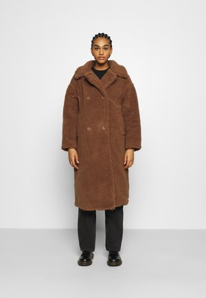 TEDDY COAT - Classic coat - brown