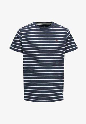 T-shirt med print - blue denim