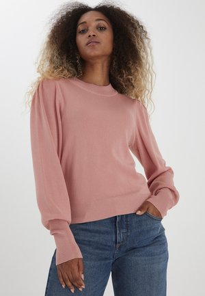 BYMAGDA  - Jumper - rose tan