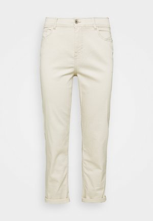 BOYFRIEND JEANS - Relaxed fit jeans - ecru