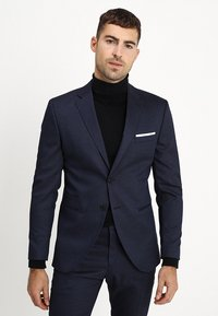 Selected Homme - SLHSLIM FIT ACECHACO SUIT - Jakkesæt - dark navy - 2