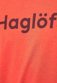 Haglöfs - RIDGE TEE - Print T-shirt - habanero - 4