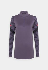 Nike Performance - DRY STRIK - Sportshirt - dark raisin/black/siren red - 3