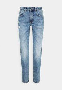 Redefined Rebel - STOCKHOLM DESTROY - Slim fit jeans - pearl blue - 4