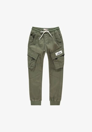 Cargobroek - army green
