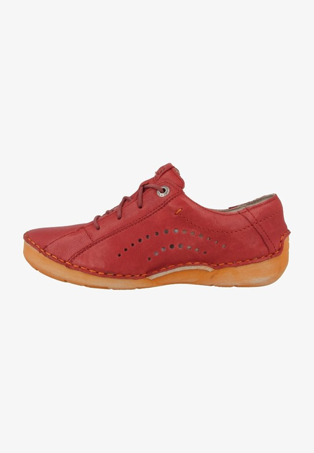 FERGEY  - Chaussures à lacets - red