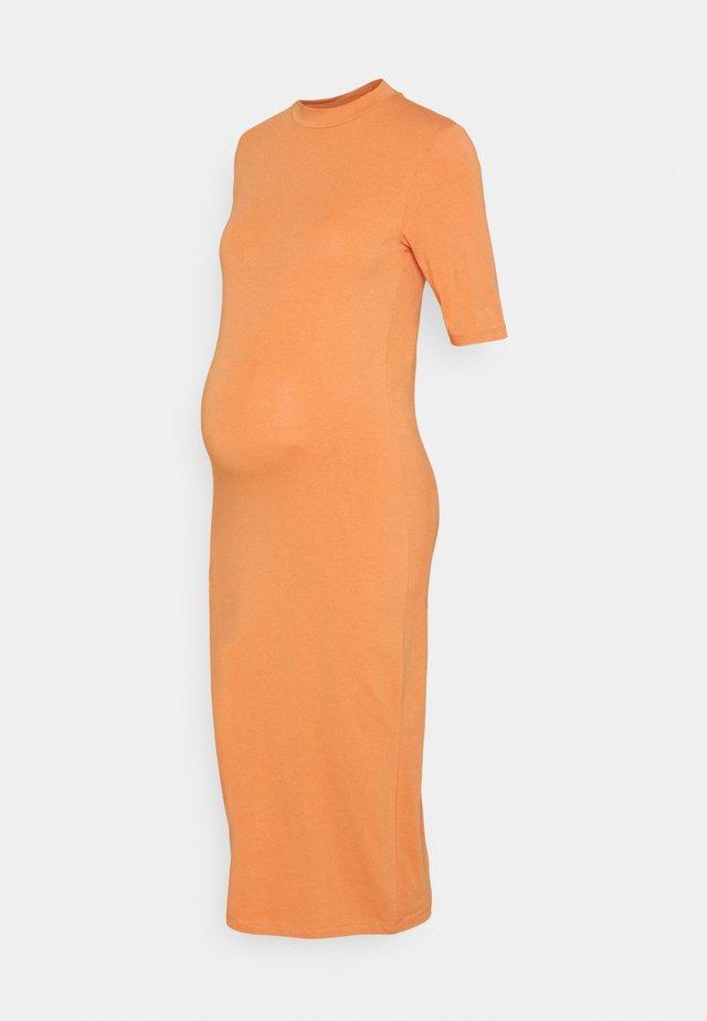 MLSIA MIDI DRESS - Žerzejové šaty - copper
