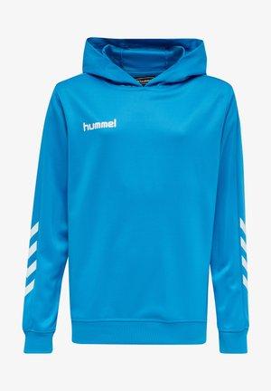 Hoodie - diva blue