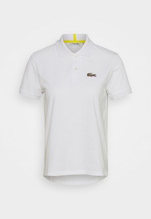 Polo shirt - white/leopard