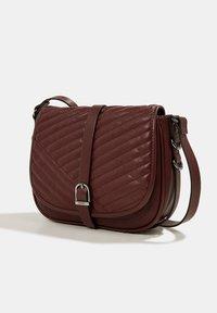 Esprit - Across body bag - bordeaux red - 4
