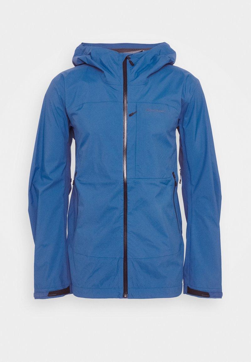 Black Diamond - HIGHLINE STRETCH SHELL - Hardshellová bunda - ultra blue