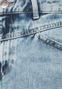 ONLY - ONLFUTURE LIFE CUT SKIRT - Denimová sukně - light blue denim - 2