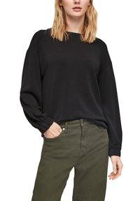 s.Oliver - Sweatshirt - black - 6