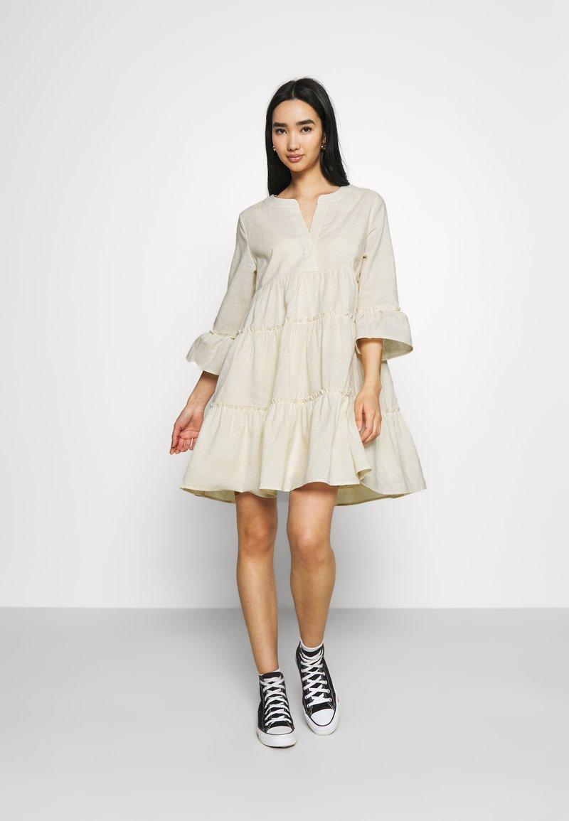 Colourful Rebel - INDY BOHO DRESS WOMEN  - Day dress - beige