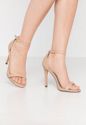 JASMINE - Sandaler med høye hæler - nude