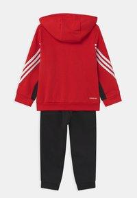 adidas Performance - SET UNISEX - Chándal - scarlet/black - 1