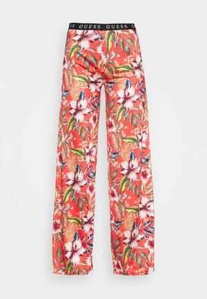 PANTS - Pyjamabroek - red