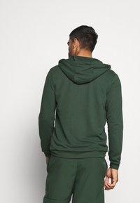 Nike Performance - DRY HOODIE  - Zip-up hoodie - galactic jade/black - 2