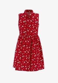 DeFacto - Shirt dress - red - 0