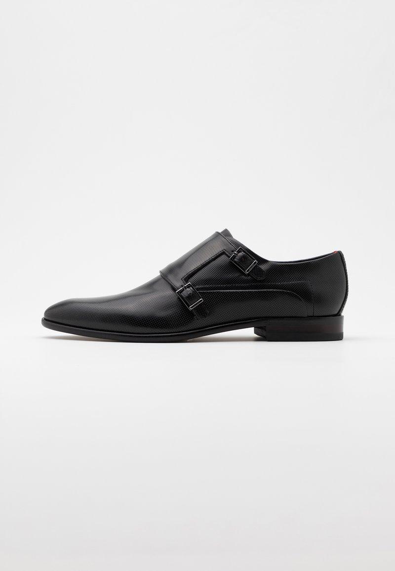 HUGO - APPEAL MONK - Smart slip-ons - black