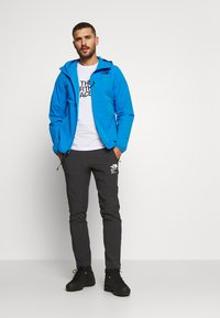 The North Face - MENS NORTH DOME STRETCH JACKET - Větrovka - clear lake blue - 1