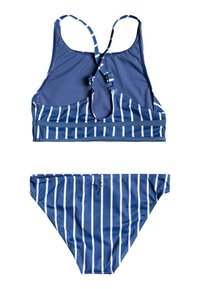Roxy - PERFECT SURF TIME SET - Bikini - moonlight blue kuta stripes - 1