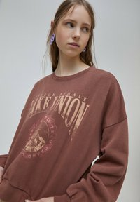 PULL&BEAR - Mikina - light brown - 3