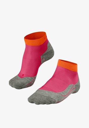 Sports socks - rose/orange