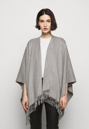 PONCHO - Kapper - grey
