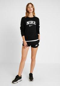 Nike Sportswear - CREW - Sweatshirt - black/white - 1