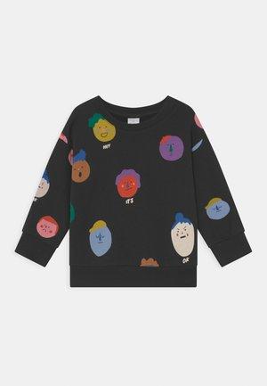 MINI FACES UNISEX - Sweatshirt - off black