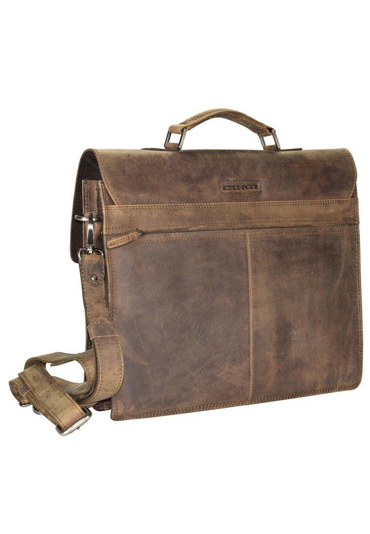 Hot Koop Hot Koop Accessoires voor heren IHI564JFOIHarold's Laptoptas brown ObIUD9y