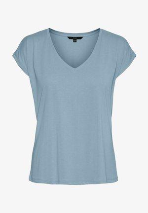 Basic T-shirt - blue fog