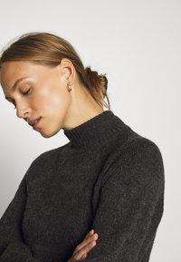 Anna Field - Jersey de punto - dark grey melange - 5