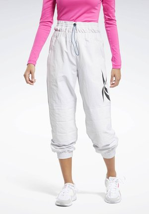 MYT JOGGERS - Tracksuit bottoms - white