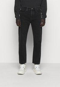 The Kooples - JEAN - Straight leg jeans - black - 0
