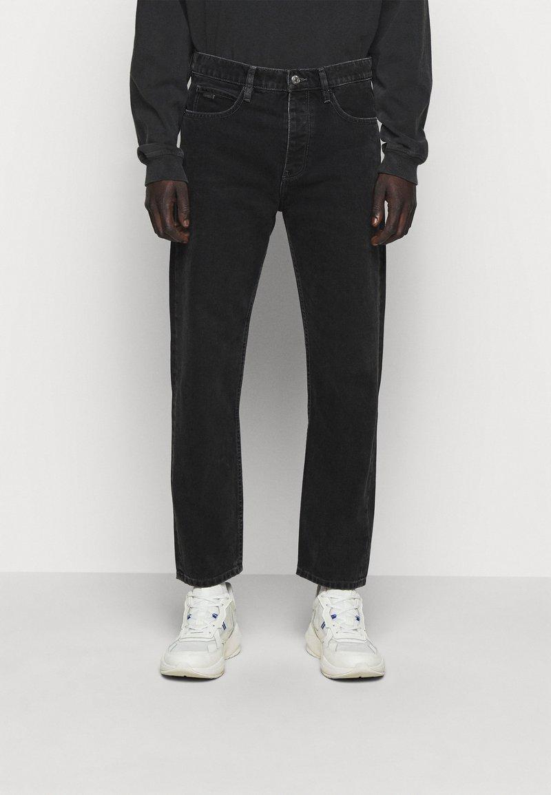 The Kooples - JEAN - Straight leg jeans - black