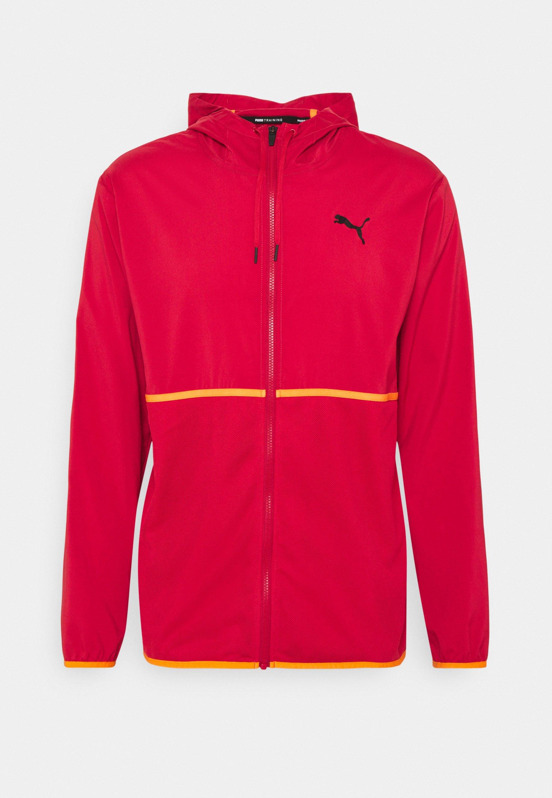 Men TRAIN TECH VENT HOODED - Training jacket