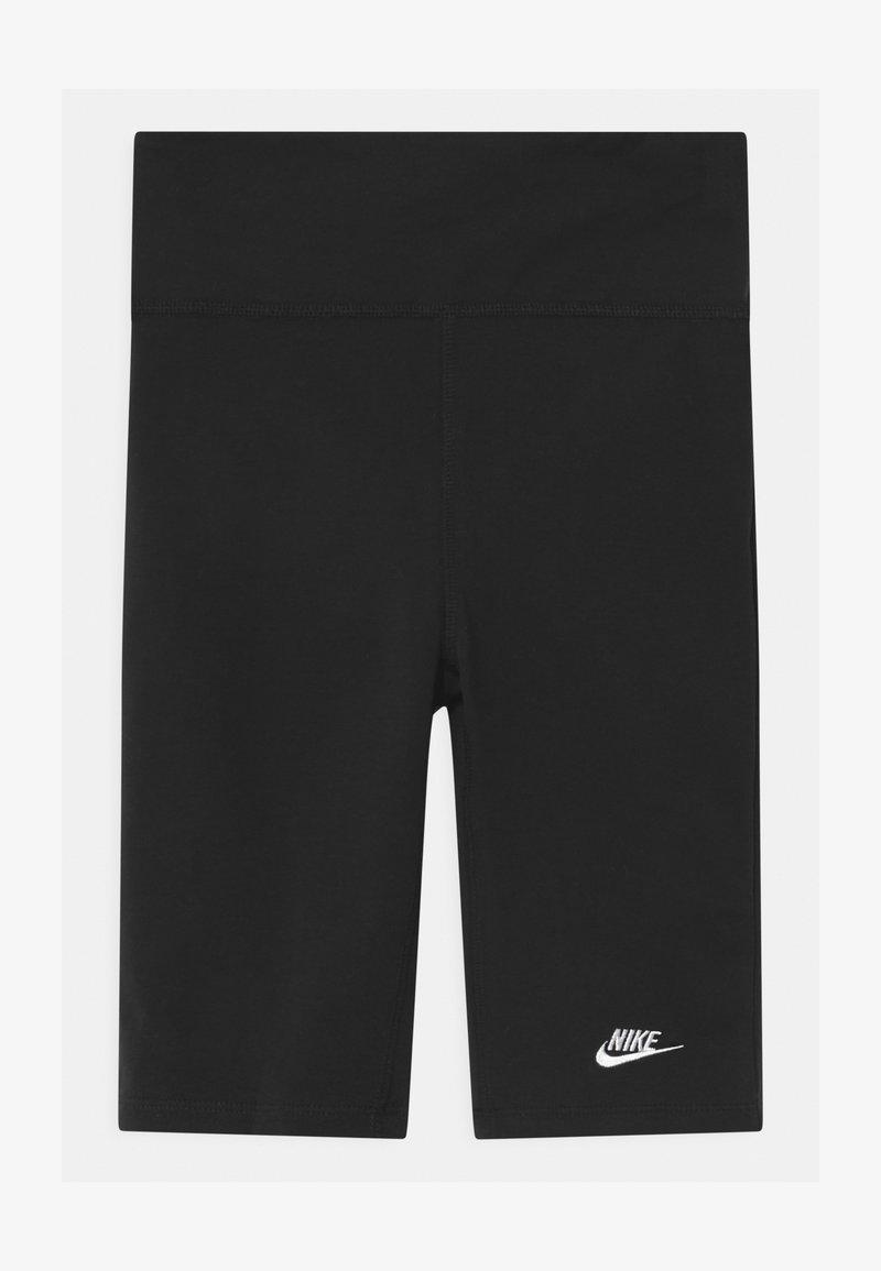 Nike Sportswear - BIKE  - Leggings - Hosen - black/white