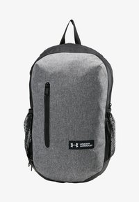 Under Armour - ROLAND  - Rucksack - graphite medium heather/black/white - 8