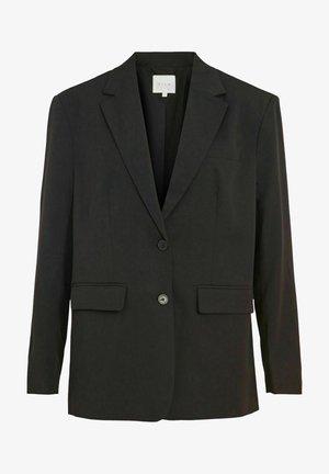 OVERSIZE - Halflange jas - black