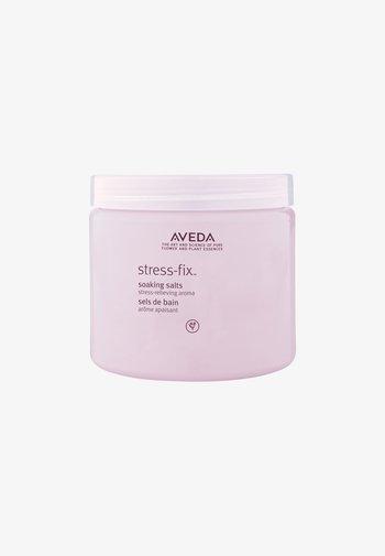 STRESS-FIX™ SOAKING SALTS - Bubble bath & soak - -