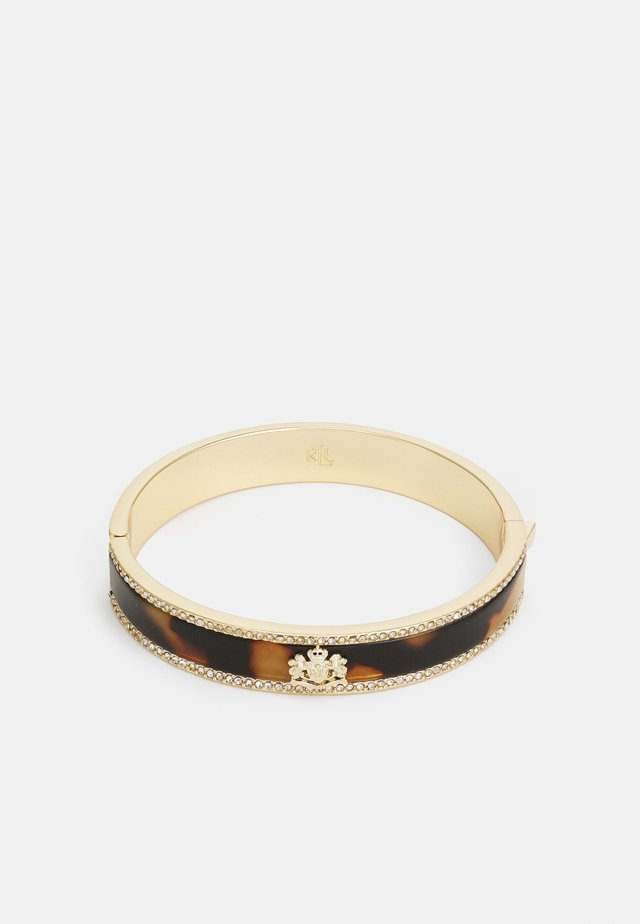 CREST BANGLE - Bracciale - gold-coloured/tort