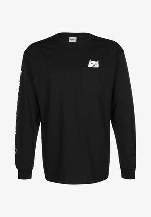 LORD NERMAL - T-shirt à manches longues - black